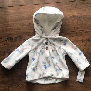 BRAND NEW CARTERS baby Girl coat w/free ONESIE